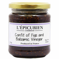 L'Epicurien Confit of Figs and Balsamic Vinegar 8.6 oz