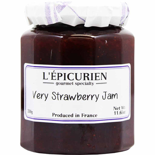 L'Epicurien Very Strawberry Jam 11.6 oz