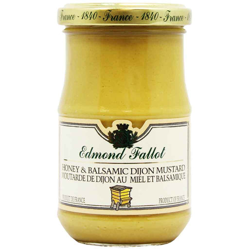Edmond Fallot Honey Balsamic Dijon Mustard 7.4 oz (210g)