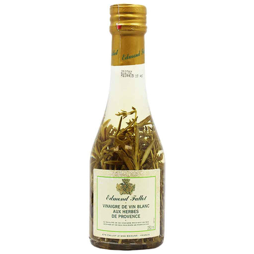 Edmond Fallot White Wine Vinegar with Provence Herbs 8.3 oz (250ml)