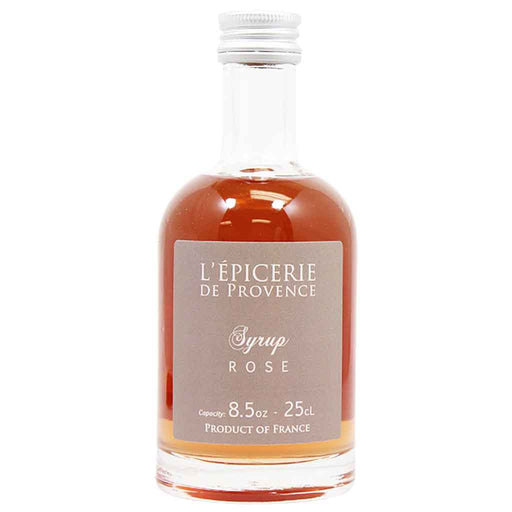 Premium Rose Syrup by Quai Sud from France 8.3 oz