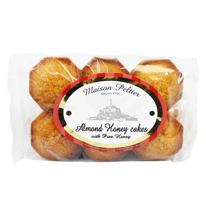 Maison Peltier, French Almond Honey Cakes 3.5 oz (100g)