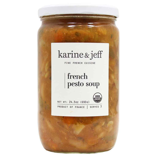 Karine & Jeff Organic French Pesto (Pistou) Soup 24.3 oz. (690 g)