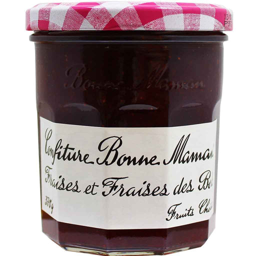Bonne Maman Wild Strawberry Jam (Imported from France), 13 oz