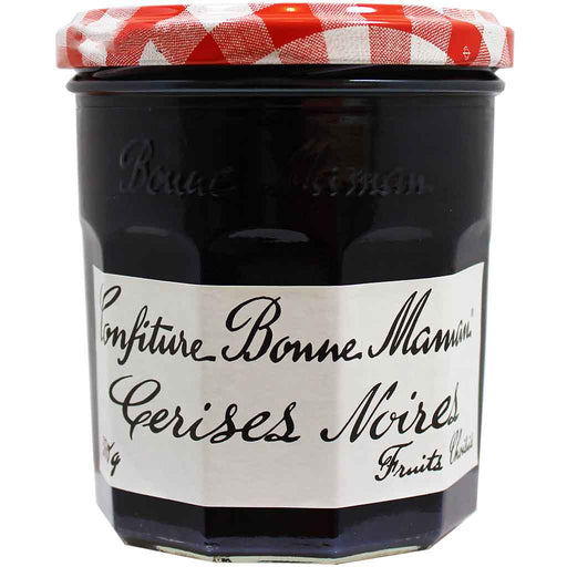 Bonne Maman Black Cherry Jam (Imported from France), 13 oz.