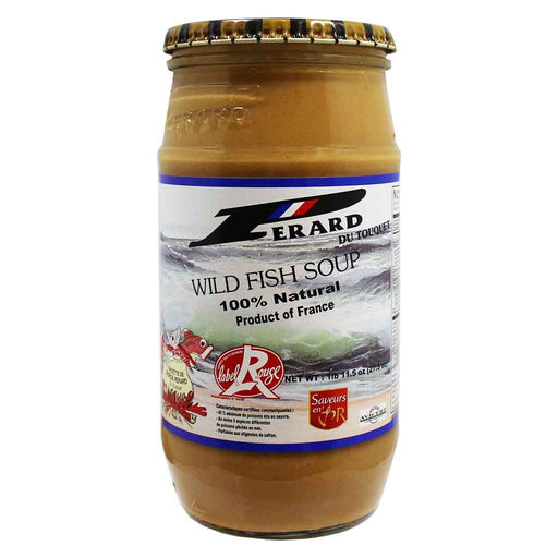 Perard du Touquet 100% Natural Wild Fish Soup 27.5 oz. (779 g)