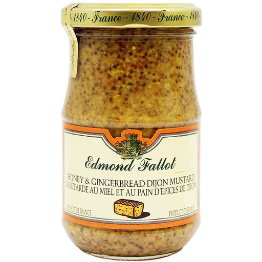 Edmond Fallot Honey & Gingerbread Dijon Mustard 7.2 oz. (205 g)