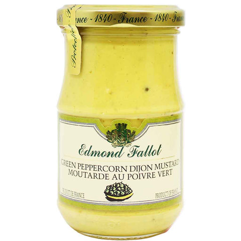 Edmond Fallot Green Peppercorn Dijon Mustard 7.4 oz. (210 g)