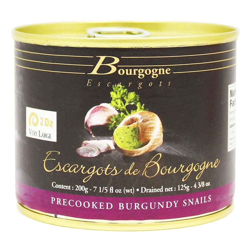 Escargots from France, 2 Dozen, by Bourgogne 4.3 oz