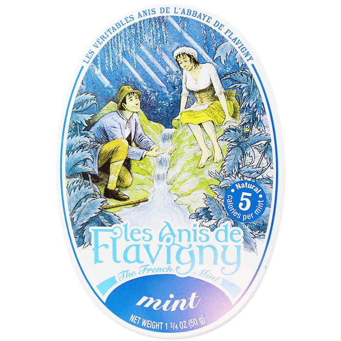 Les Anis de Flavigny Mint Flavored Anise Candy 1.7 oz. (50g)