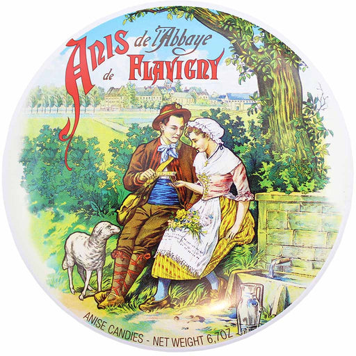 Les Anis de Flavigny Anise Candy Large Tin 6.7 oz. (189g)