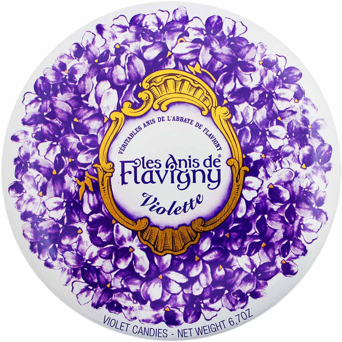 Les Anis de Flavigny Violet Flavored Anise Candy 6.7 oz. (189g)