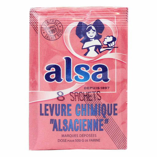 Alsa Baking Powder 8 bags 3 oz. (85g)