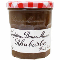 Bonne Maman Rhubarb Jam (Imported from France), 11 oz.