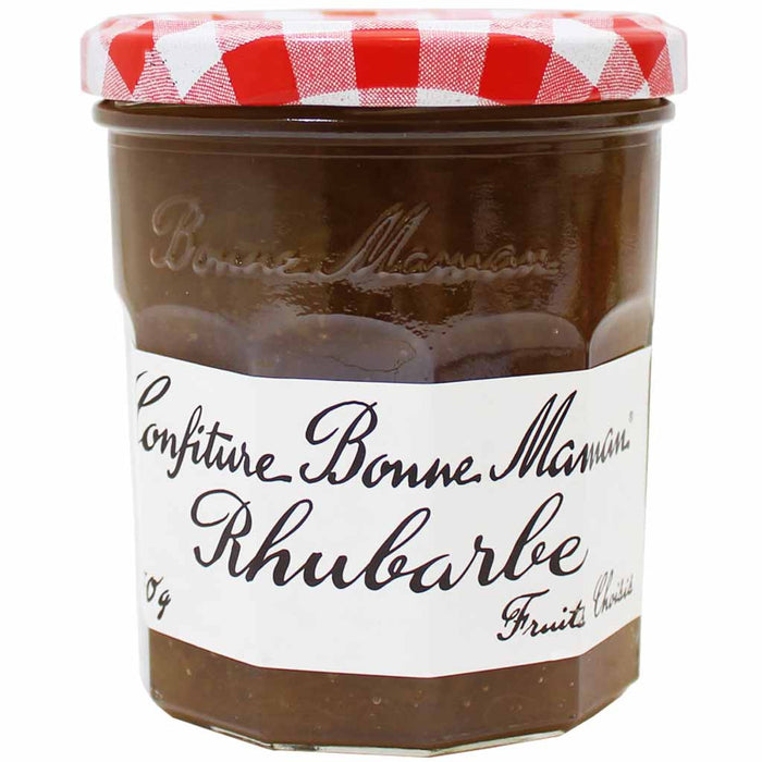 Bonne Maman Rhubarb Jam (Imported from France), 11 oz