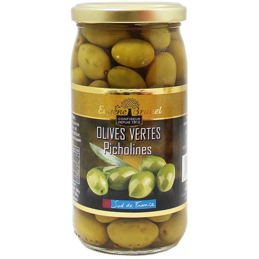 Brunel Green Picholines Olives 7 oz. (200g)