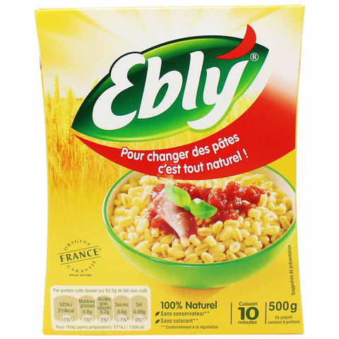 Ebly Wheat Groats 17.6 oz. (500g)