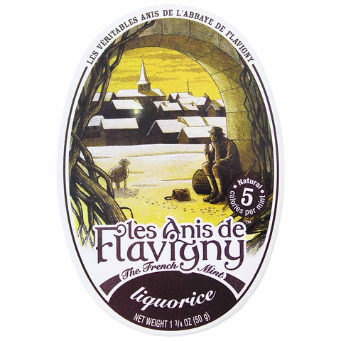 Les Anis de Flavigny Licorice Mints Tin 1.7 oz. (50g)
