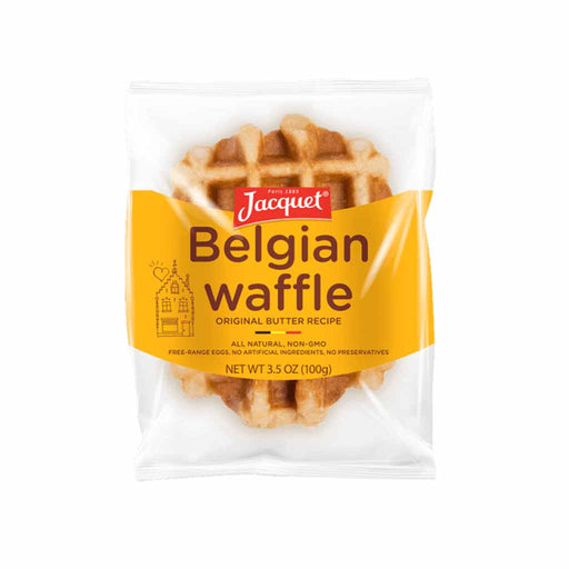 Imported Belgian Waffle by Jacquet, 3.5 oz. (100g)