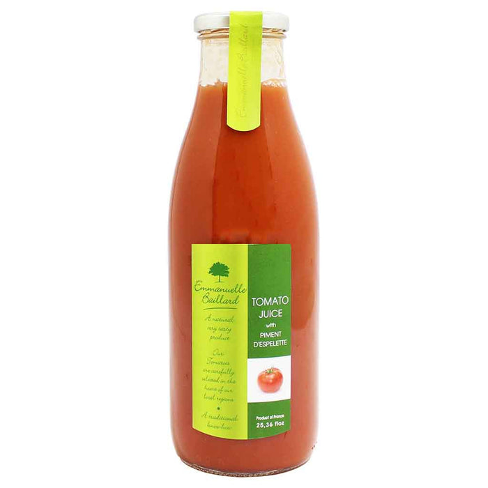 French Tomato Juice with Piment D'Espelette by Emmanuelle Baillard 25.3 fl oz. (750 ml)