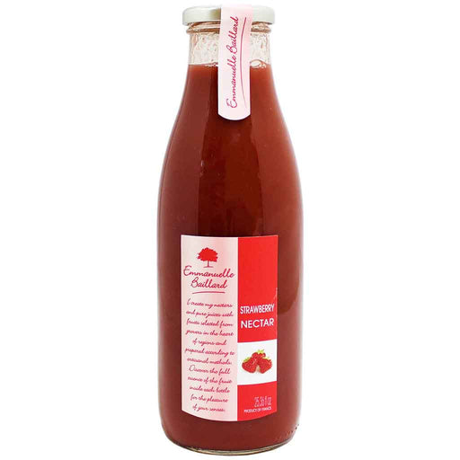 French Strawberry Nectar by Emmanuelle Baillard 25.3 fl oz.  (750 ml)