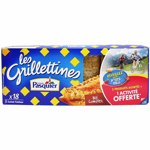 Brioche Pasquier 18 Wheat Grillettines 8.5 oz. (242g)