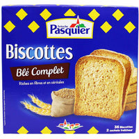 Brioche Pasquier Wholemeal French Rusks, Biscottes 10 oz. (300g)