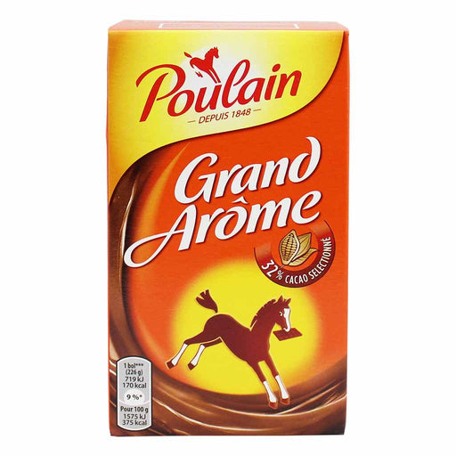 250h Poulain Grand Arome French Hot Chocolate Mix 8.8 oz.