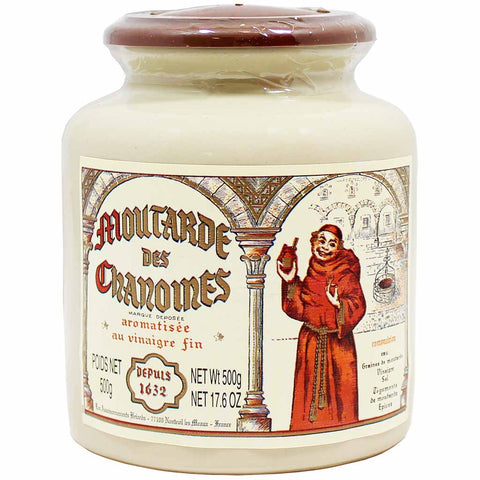 Pommery French Mustard des Chanoines 17.6 oz. (500g)
