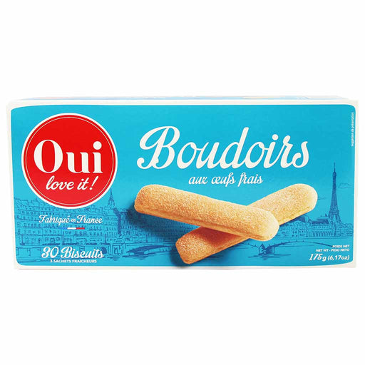 Oui Love It Boudoirs French Lady Finger Biscuits 6.1 oz. (175g)