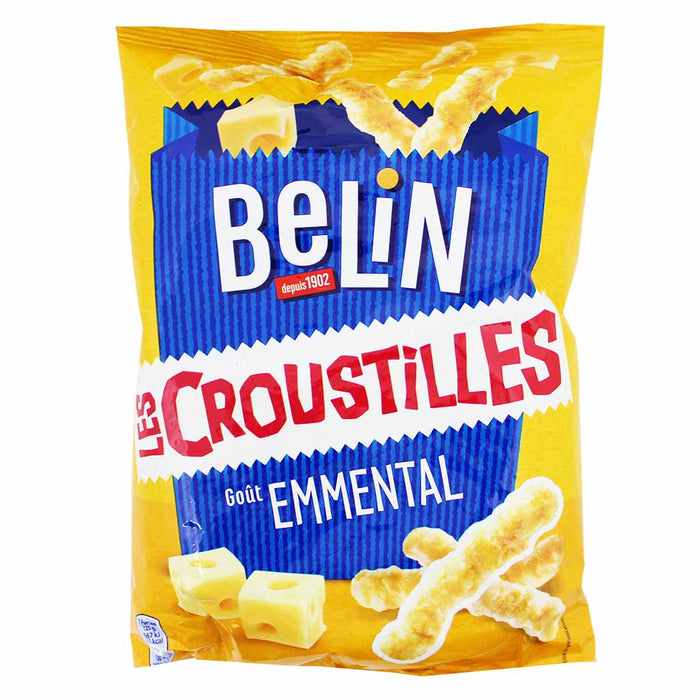 Belin Croustilles Emmental French Cheese Snack 3.1 oz. (90g)