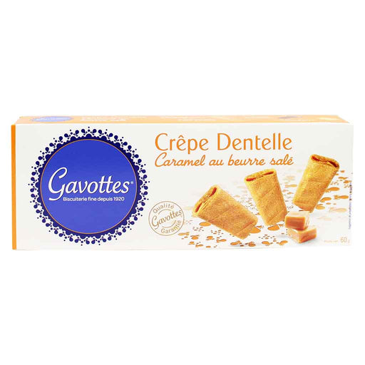 Gavottes Crepe Dentelle with Caramel 2.1 oz. (60g)