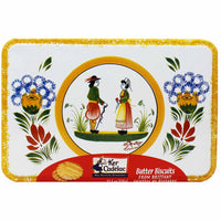 Ker Cadelac Galettes Butter Biscuits from Brittany Tin 11.5 oz. (325g)