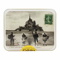 Maison Peltier Honey Butter Galettes in Tin, 5.2 oz. (150g)