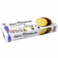 Filet Bleu Mandarin Orange Biscuits with Dark Chocolate, 4.5 oz. (130g)
