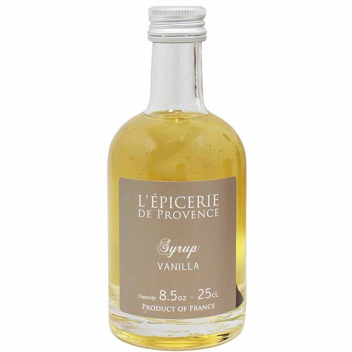 Premium Vanilla Syrup by Quai Sud from France 8.5 oz. (25cl)