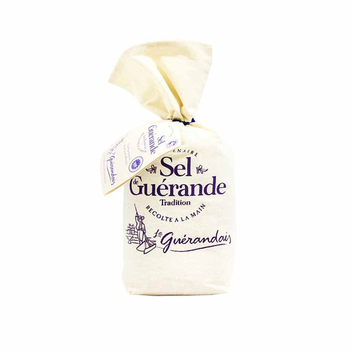 Le Guérandais - Fleur de Sel de Guérande Sea Salt, Cloth Bag, 4.4 oz, (125g)