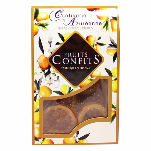 Confiserie Azureenne Candied Orange Slices 7 oz. (200g)