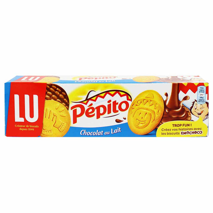 Pepito Milk Chocolate Cookies by LU, 6.7 oz. (192g)