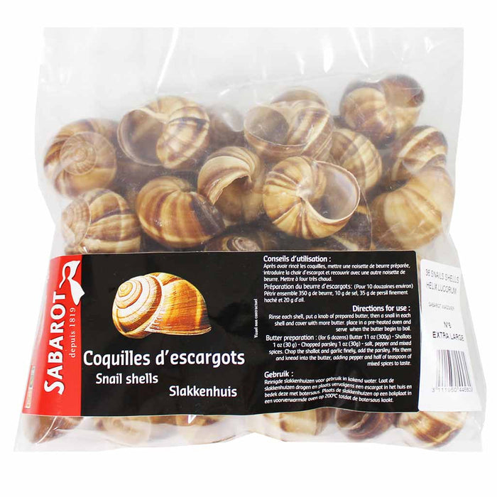 French Snail Shells, Extra Large, 36 Ct
