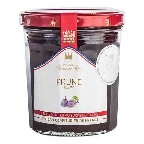 Francis Miot French Plum Jam 7.7 oz. (220g)