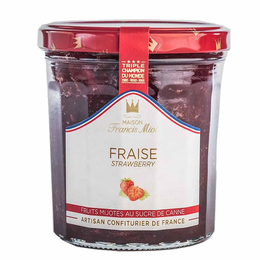 Francis Miot Jam, Strawberry made by the Winner of Best Jam Making Competition 7.7 oz. (220g)