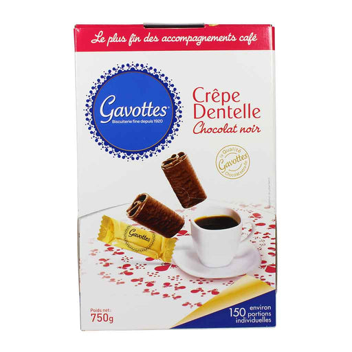 Gavottes Chocolate Crepe Dentelle Cookies 26.4 oz.