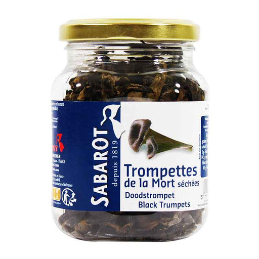 Sabarot - Dried Black Trumpet, 1 oz.