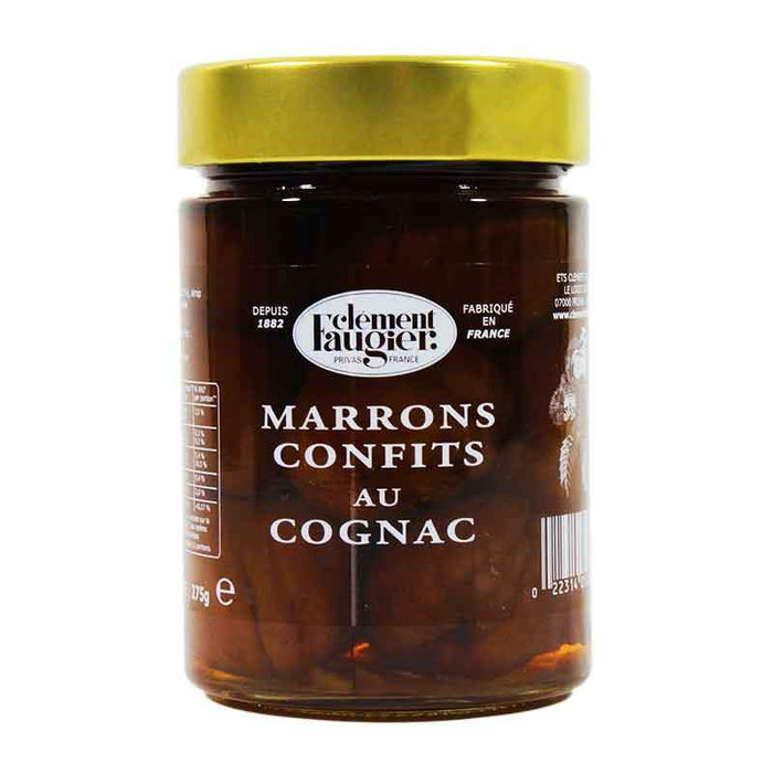 Clement Faugier - Candied Chestnuts in Cognac, 15.1 oz.