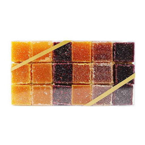 Paris Caramels - French Fruit Jellies Pates de Fruit, 6.3 oz.