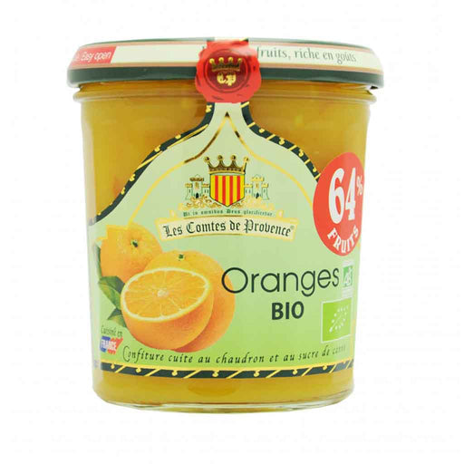 Les Comtes de Provence - Organic Orange Spread, 12.3 oz.