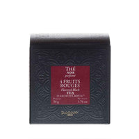 Dammann Freres - 4 Fruits Black Tea, 25 Cristal Teabags