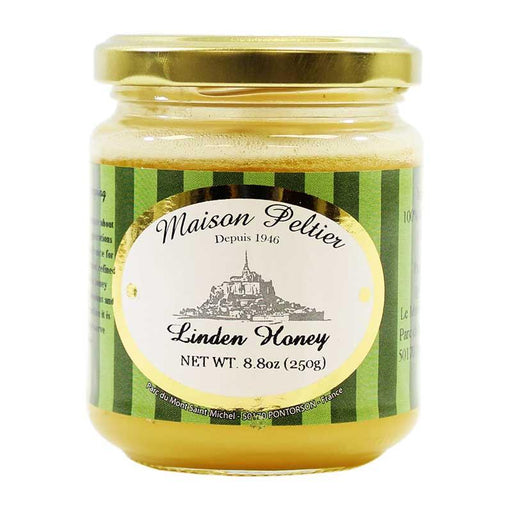 Maison Peltier, French Linden Honey, 8.8 oz.