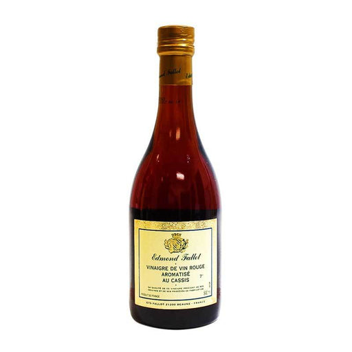 Edmond Fallot - Blackcurrant Red Wine Vinegar, 16.7 oz.